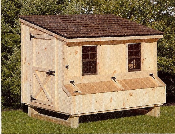 The shed place Lean to dog house plans