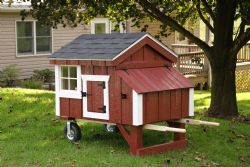 4x4 A-Frame Chicken Coop with wheels