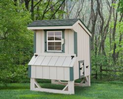 4x4 Quaker Chicken Coop 2