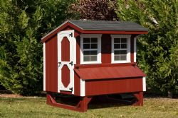 4x6 Quaker Chicken Coop 1