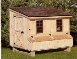 4x6 Lean-to Chicken Coop
