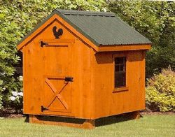 5x6 A-Frame Chicken Coop