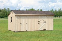 10x20 Board and Batten Horse Barn