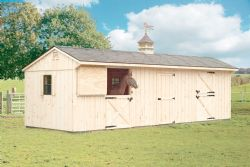 10x30 Board and Batten Horse Barn