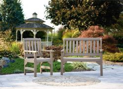 Poly English Garden Chair and Bench