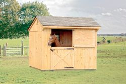 10x10 Board and Batten Stall Barn